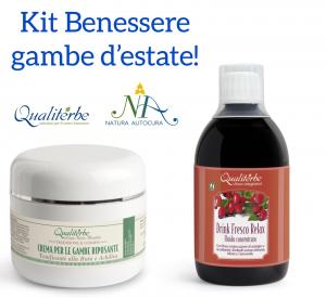 Kit Benessere Gambe Estate -20% con codice: naturautocura