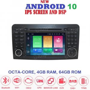 ANDROID 10 autoradio 2 DIN navigatore per Mercedes classe R W251/R280/R300/R320/R350/R500/R63/AMG 2006-2012 GPS DVD WI-FI Bluetooth MirrorLink