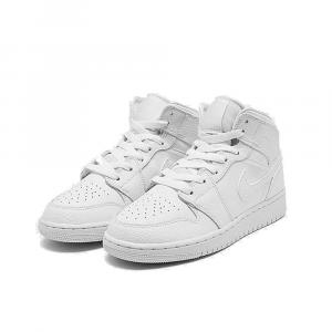 Air Jordan 1 Mid Bianca Unisex