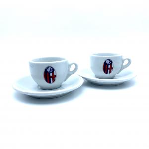 Bologna Fc SET TAZZINE DA CAFFÈ
