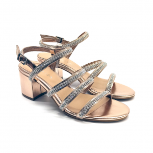 Sandalo gioiello cipria Apepazza