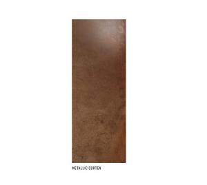 COLLEZIONE METALLIC CM.45X120 RIVESTIMENTO MONOPOROSA RETTIFICATO 1° SCELTA