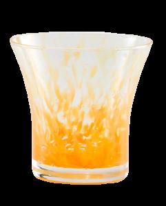 Wasser Glas Padova Korn Orange (6stck)