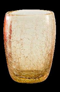Glas Luisella Gelb Craqué (6stck)