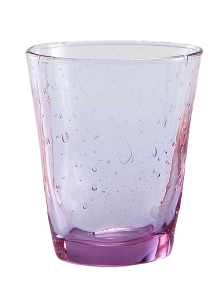 Wasser Glas Venezia Lila (6stck)