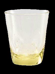 Wasser Glas Venezia Gelb (6stck)