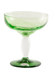 Eis Gläser Korn Smaragd (6stck)