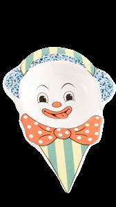 Clown ceramica (6pz)