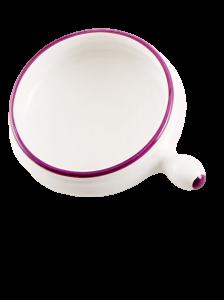 Tegamino ceramica lilla (6pz)