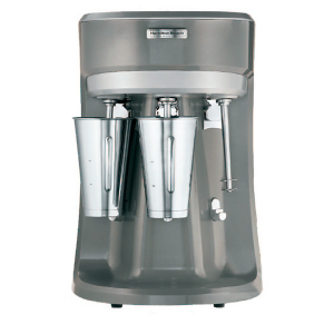 Triple-Spindle Drink Mixer with 3 stainless steel cups