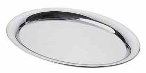 Oval Edelstalschale (1stck)