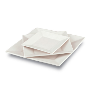 Square Plate - Harmony Collection (6pcs)