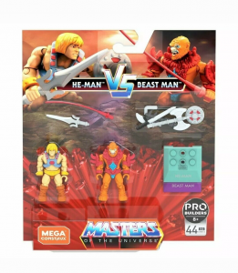 Masters of the Universe - Mega Construx: HE-MAN vs BEAST MAN by Mattel