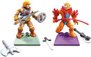 Masters of the Universe - Mega Construx: HE-MAN vs BEAST MAN by Mattel
