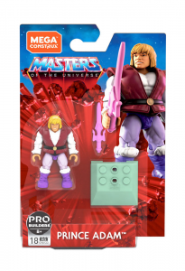 Masters of the Universe - Mega Construx: PRINCE ADAM by Mattel