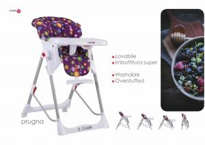 Seggiolone I Chair Multifunzione by   BACIUZZI