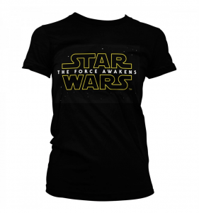 T-Shirt: STAR WARS The Force Awakens (black) varie taglie