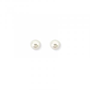 By Simon - Orecchini in argento e perla sintetica, 1102678