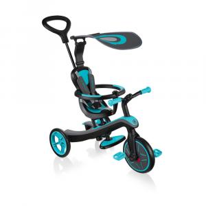Triciclo Trike per bambini EXPLORER TRIKE 4in1 Globber Teal