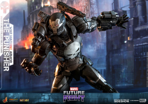 Hot Toys 1/6 - Marvel Future Fight Video Game: The Punisher War Machine Armor
