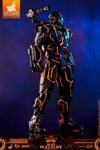 Hot Toys 1/6 Diecast - Iron Man 2: Neon Tech War Machine Hot Toys Excl.