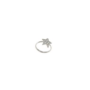 Bracciale Etoiles in oro bianco e diamanti