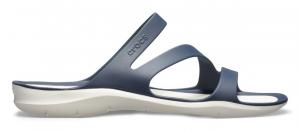 Crocs Sandali Donna 203998 NAVY/WHITE -8