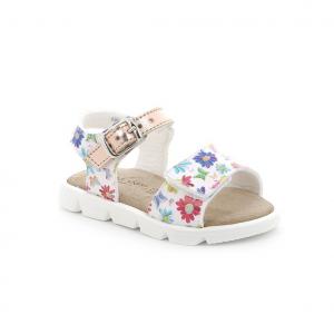Sandalo bianco/multicolor Grünland