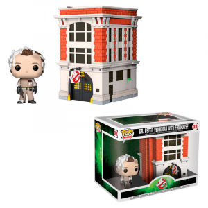 Funko Pop Town 03: Ghostbusters Peter with House