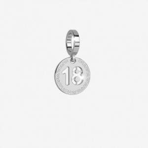 Charm Numero 18 Rebecca. Collezione Myworld Charms.