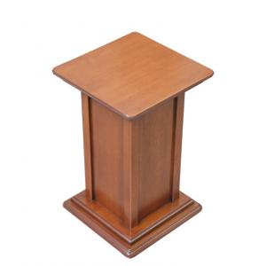 Pedestal de madera, altura 40 cm