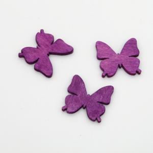Farfalla in legno per decorazioni