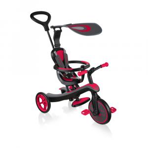 Triciclo per bambini Trike EXPLORER TRIKE 4in1 Globber New Red
