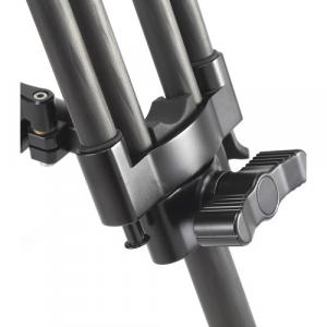 Treppiede video in fibra di carbonio BCT-2203 + semisfera 75mm