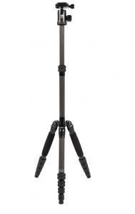 Traveler 5C Treppiede in Fibra di Carbonio - Altezza Max. 1,3m