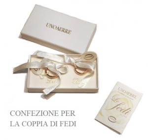 UnoAErre Cassiopea - brillanti promesse (Oro bianco e giallo)