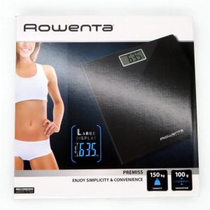 Bilancia pesapersone nera 150kg di Rowenta