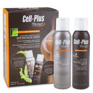 CELL-PLUS MOUSSE CROCCANTE ANTI-CELLULITE CORPO GIORNO E NOTTE CONTRO GLI INESTETISMI DELLA CELLULITE