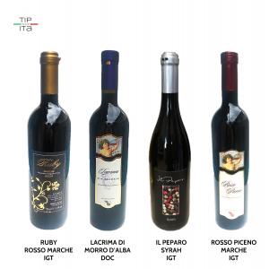 Selezione Vini Rossi - 4x75cl