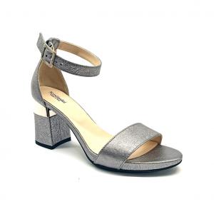 Sandalo acciaio laminato Nero Giardini