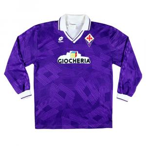 1991-92 Fiorentina Maglia match worn/issue #7 Mazinho XL (Top)
