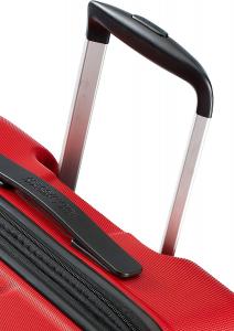 American Tourister Tracklite - Trolley grande L (78 cm - 120 L), Rosso (Flame Red)