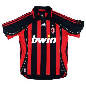 2006-07 Ac Milan Maglia Home Pirlo #12 M