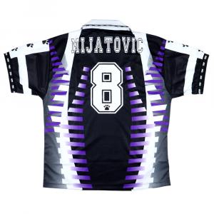 1997-98 Real Madrid Maglia Terza #8 Mijatovic L *Nuova