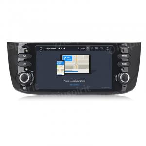 ANDROID 10 autoradio navigatore per Fiat Punto Evo Fiat Street / Lounge 2010-2015 GPS USB SD WI-FI Bluetooth