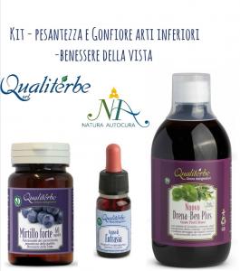 Kit Pesantezza Arti Inferiori-Benessere della Vista -20% con codice: naturautocura