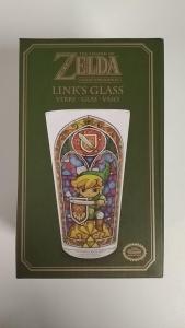 LINK'S GLASS - THE LEGEND OF ZELDA - Collectors Edition
