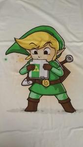 T-SHIRT - Taglia M - Link Nes catridge - The Legend of Zelda