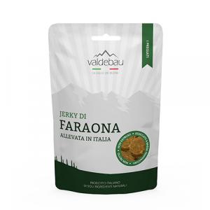 Snacks per cani, 92% essiccato di Faraona 90gr
