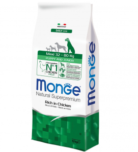 Monge - Natural Superpremium - Maxi Puppy&Junior - 12 kg